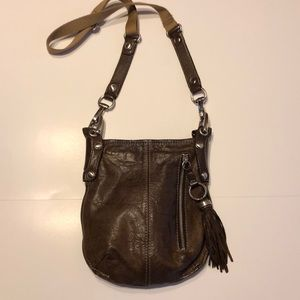 B. Makowsky Leather Crossbody l EUC